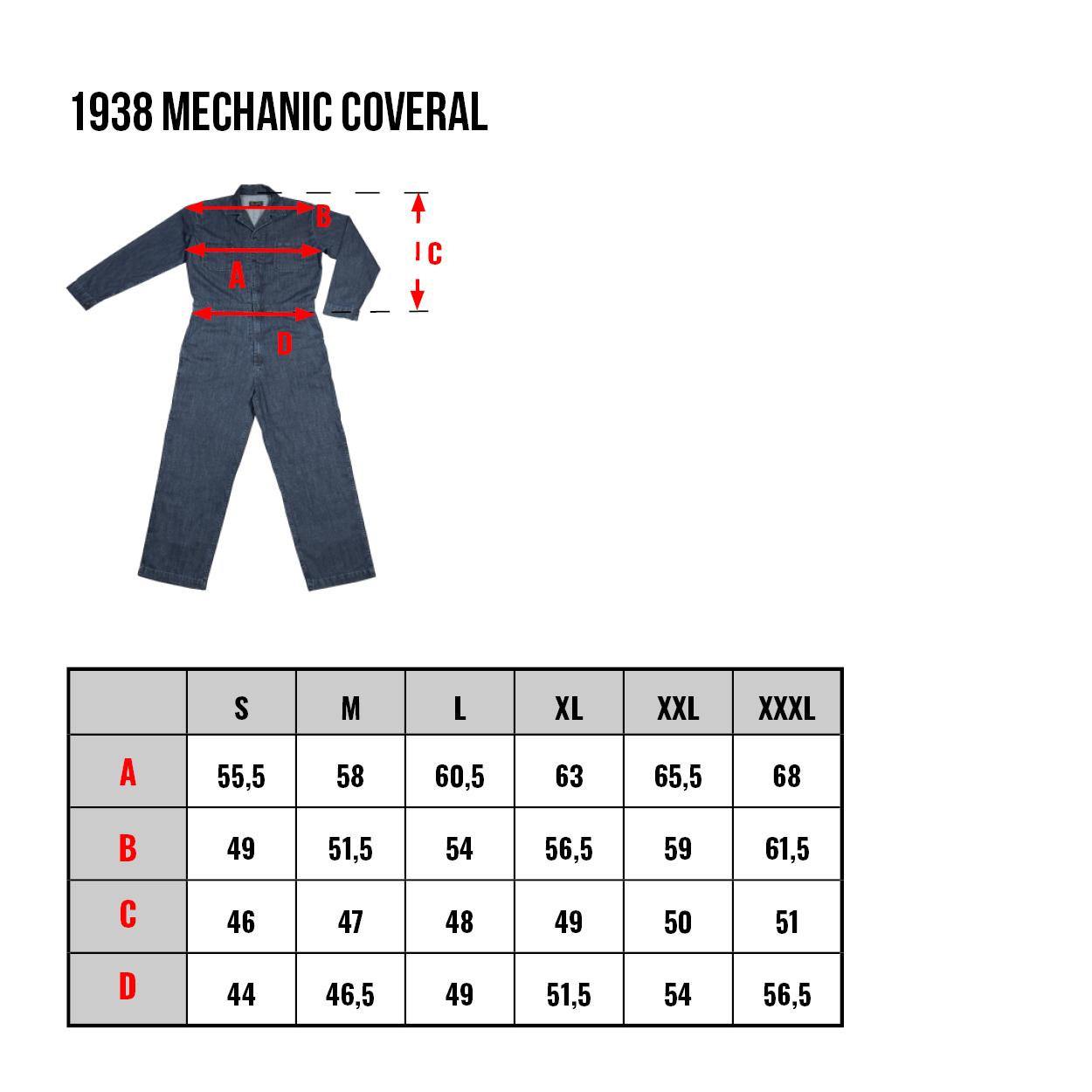 combinaison mécanicien années 40